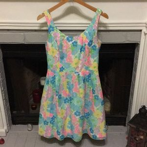Lilly Pulitzer Colorful Floral Dress